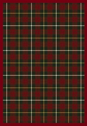 "Bit O Scotch Rug - Tartan Green - Rectangle - 5'4"" x 7'8"" - JC1511C06 - Joy Carpets"