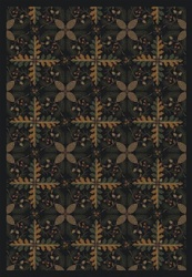 "Tahoe Rug - Black - Rectangle - 3'10"" x 5'4"" - JC1516B01 - Joy Carpets"