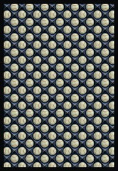 "Bases Loaded Rug - Clear Skies - Rectangle - 3'10"" x 5'4"" - JC1522B01 - Joy Carpets"