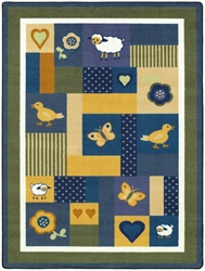 "Baby Love Rug - Soft - Rectangle - 7'8"" x 10'9"" - JC1532D02 - Joy Carpets"