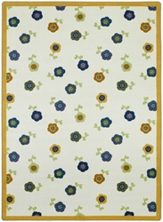 "Awesome Blossom Rug - Soft - Oval - 3'10"" x 5'4"" - JC1536BB02 - Joy Carpets"