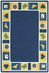 "Seeing Spots Rug - Soft - Oval - 3'10"" x 5'4"" - JC1538BB02 - Joy Carpets"