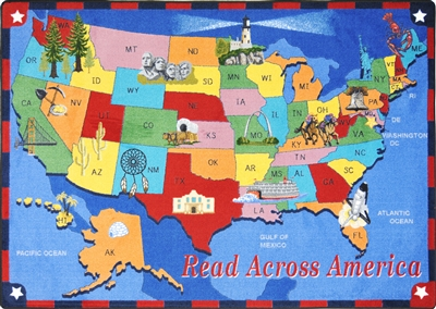 Read Across America Rug - JC1547XX - Joy Carpets