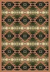 "Canyon Ridge Rug - Cactus - Rectangle - 5'4"" x 7'8"" - JC1577C03 - Joy Carpets"