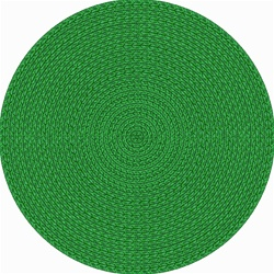 "Legacy Faux Braided Rug - Green - Round - 7'7"" - JC1631E03 - Joy Carpets"
