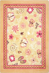 Hearts & Flowers Rug - JC1653XX - Joy Carpets