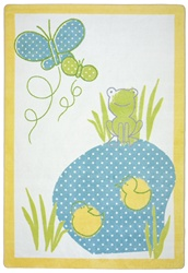 Polka Dot Pool Rug - JC1657XX - Joy Carpets