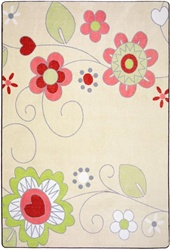 Pretty Posies Rug - JC1658XX - Joy Carpets