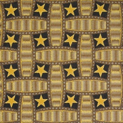 "Marquee Star Rug - Chocolate - Rectangle - 3'10"" x 5'4"" - JC1663B02 - Joy Carpets"
