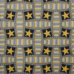 "Marquee Star Wall-to-Wall Carpet - Charcoal - 13'6"" - JC1663W01 - Joy Carpets"