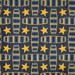 "Marquee Star Wall-to-Wall Carpet - Blue - 13'6"" - JC1663W04 - Joy Carpets"