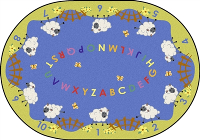 Lamby Pie Childrens Rug - JC1727XX - Joy Carpets