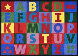Oversize Alphabet Rug - JC1742XX - Joy Carpets