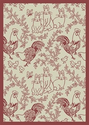 "Feathers & Fur Wall-to-Wall Carpet - Rose - 13'6"" - JC428W01 - Joy Carpets"