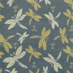 "Dragonflies Wall-to-Wall Carpet - 13'6"" - JC437WXX - Joy Carpets"