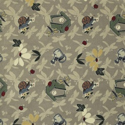 "Flower Garden Wall-to-Wall Carpet - 13'6"" - JC438WXX - Joy Carpets"