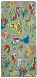 "My Hometown Play Rug - Rectangle - 26"" x 40"" - LC101A - Learning Carpets"