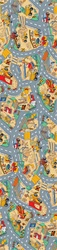 "Under Construction Play Rug - Rectangle - 36"" x 80"" - LC161 - Learning Carpets"