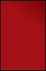 "Solid Red Rug - Oval - 6'6"" x 9'5"" - LCCPR481 - Learning Carpets"