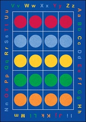 ABC Dots Rug - LCCPR487XX - Learning Carpets