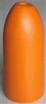 "6"" x 14"" Orange or White Bullet PVC Foam Float"