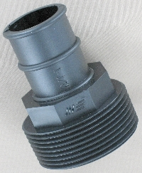 1-1/2 in. MPT x 1-1/8 in. Barb Adaptor