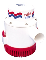 Rule Pumps Non-Automatic 12 Volt DC Bilge Pump 3700 GPH 14A