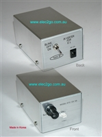 Flat EL inverter - adjustable brightness
