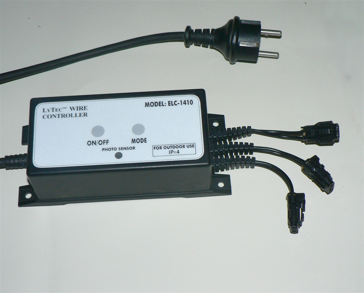 Outdoor, photo sensor EL wire inverter