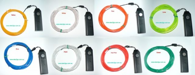 3m EL wire kit
