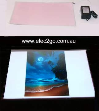 A3 Standard back-light panel kit WHTE
