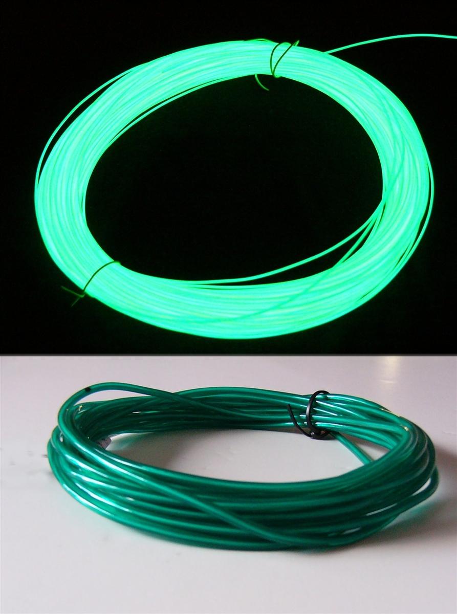 el wire Ultra bright 3.2mm Green
