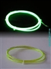 Lime electroluminescent el wire, glowing wire in a yellow green, lime led, lime coloured el glowing wire, buy el wire by the metre in this vibrant colour and stand out, this is a high vis colour el wire