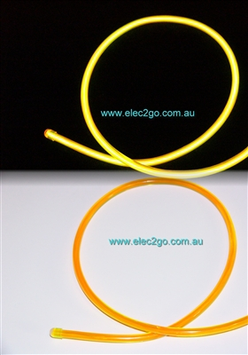 el wire Ultra bright 3.2mm  Yellow