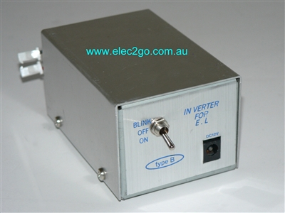 Inverter 12v input for electroluminescence