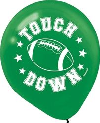 "Football Latex 12"" Balloons 