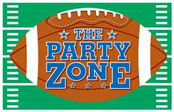 Football Giant Party Plastic Sign | Football Party Zone