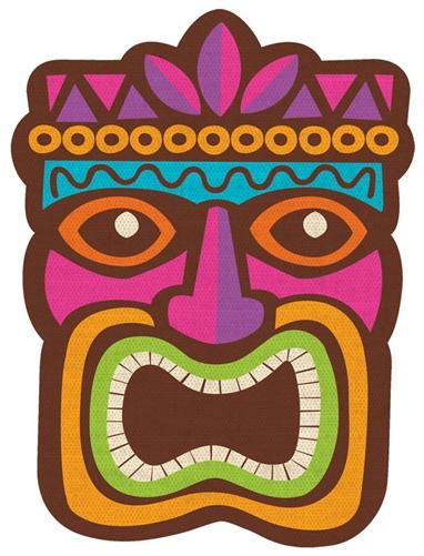 8 luau cutout - Luau Decorations