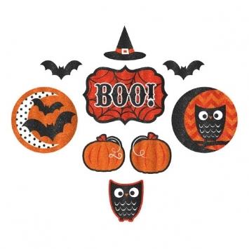 Modern Halloween Cutouts | Halloween Decorations | Fall Decorations