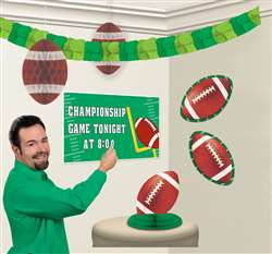 Football Customizable Decorating Kit | Football Party Items