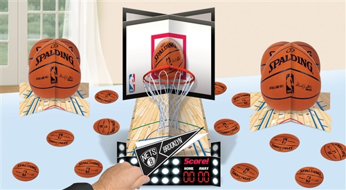Spalding Basketball Customizable Table Decorating Kit