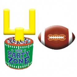 Football Jumbo Inflatable Cooler | Sports Party Products