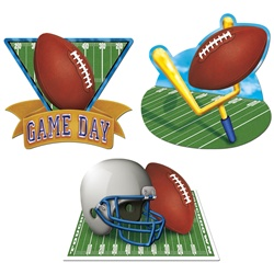 Game Day Football Cutouts