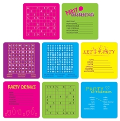 Party Puzzle Coasters
