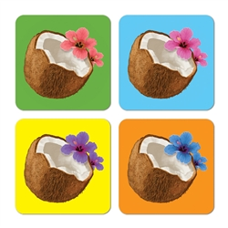 Coconut Coasters