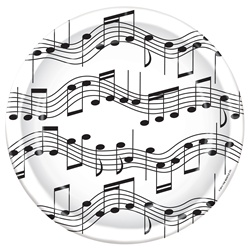 Musical Note Plates