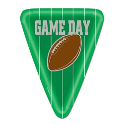 Game Day Football Plates