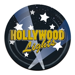 Hollywood Lights Dessert Plates