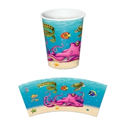 Under The Sea Beverage Cups