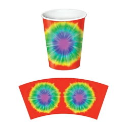 Tie-Dyed Hot/Cold Beverage Cups